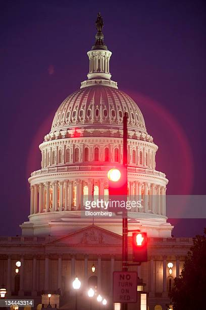 The US Capitol building stands in Washington DC US on Friday July 29 2011 House Republican leaders four days before a threatened US default and...