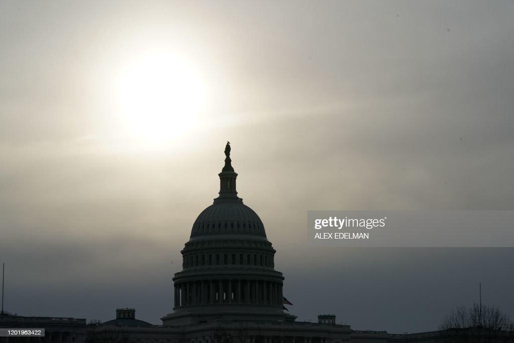 US-POLITICS-CAPITOL : News Photo