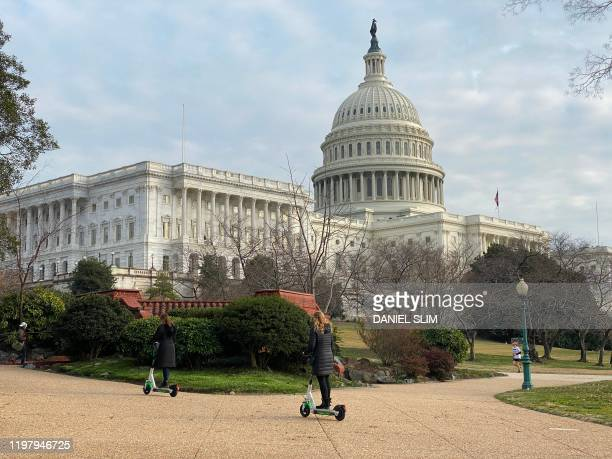 The US Capitol is pictured on February 1 2020 in Washington DC