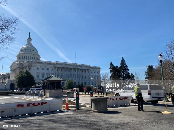 The US Capitol is pictured on March 9 2020 in Washington DC
