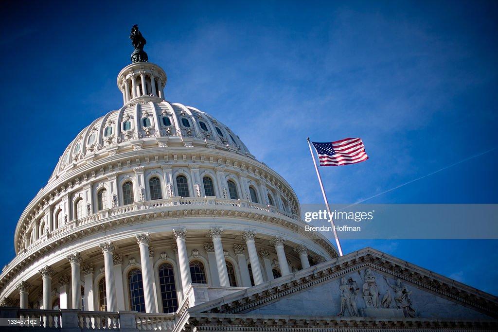 As Deadline On Debt Reduction Impasse Looms, Super Committee Meets Over Weekend : News Photo