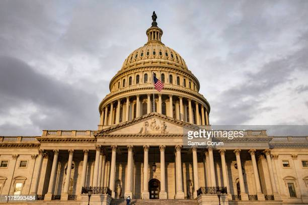 The U.S. Capitol is seen on October 30, 2019 in Washington, DC. State Department special adviser for Ukraine Catherine Croft and State Department...