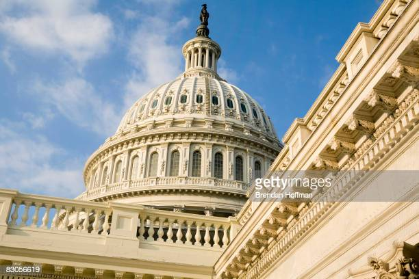 The US Capitol is seen on September 29 2008 in Washington DC The House of Representatives earlier defeated the Emergency Economic Stabilization Act...