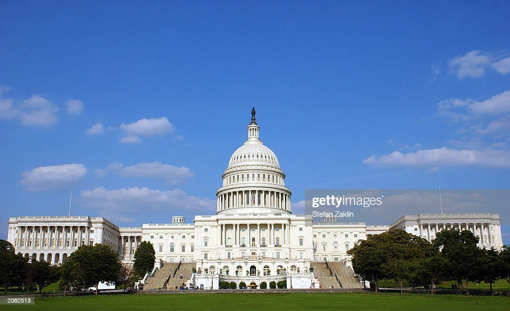 U.S. Capitol In Washington : News Photo