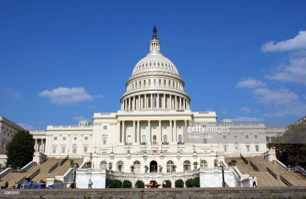 The U.S. Capitol is shown June 5, 2003 in Washington, DC. Both houses of the U.S. Congress, the U.S. Senate and the U.S. House of Representatives meet in the Capitol.