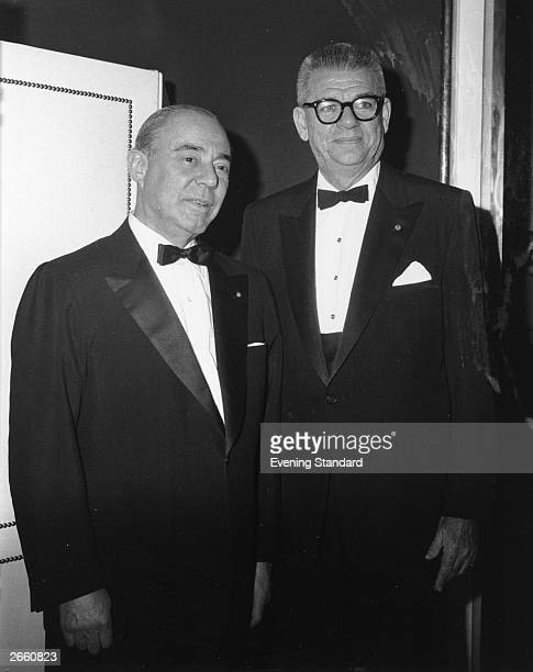 The US composers and lyricists Richard Rodgers and Oscar Hammerstein