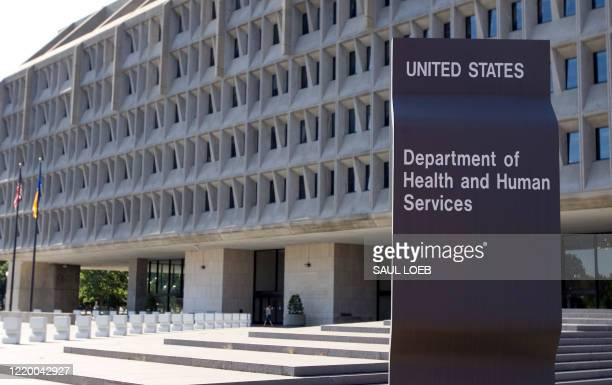 The US Department of Health and Human Services building is shown in Washington, DC, 21 July 2007. The department, which began operations in 1980, has...