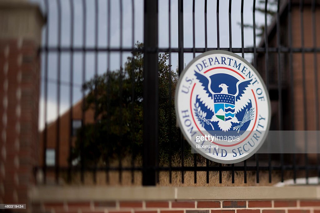 Dept. Of Homeland Security HQ As Congress' Spending Plan Funds Agency Only Through February : News Photo