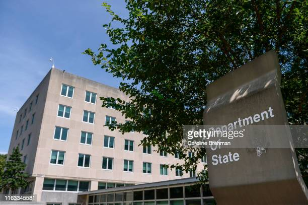 The US Department of State is pictured in Washington on Thursday August 22 2019