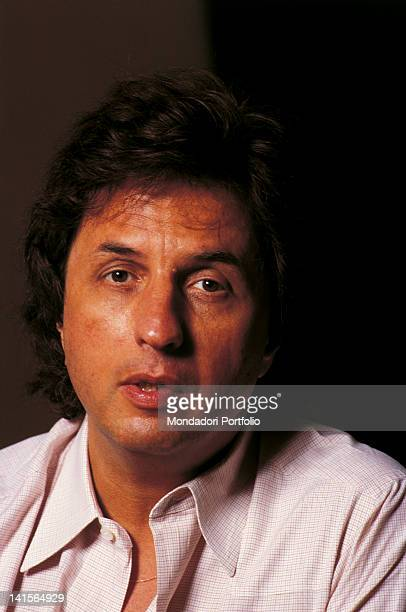 The US director Michael Cimino. Italy, the '70s.