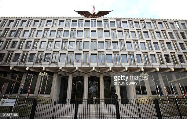 The US embassy in central London is pictured on November 6 2009 The United States is selling its embassy in London to Qatar's sovereign wealth fund...