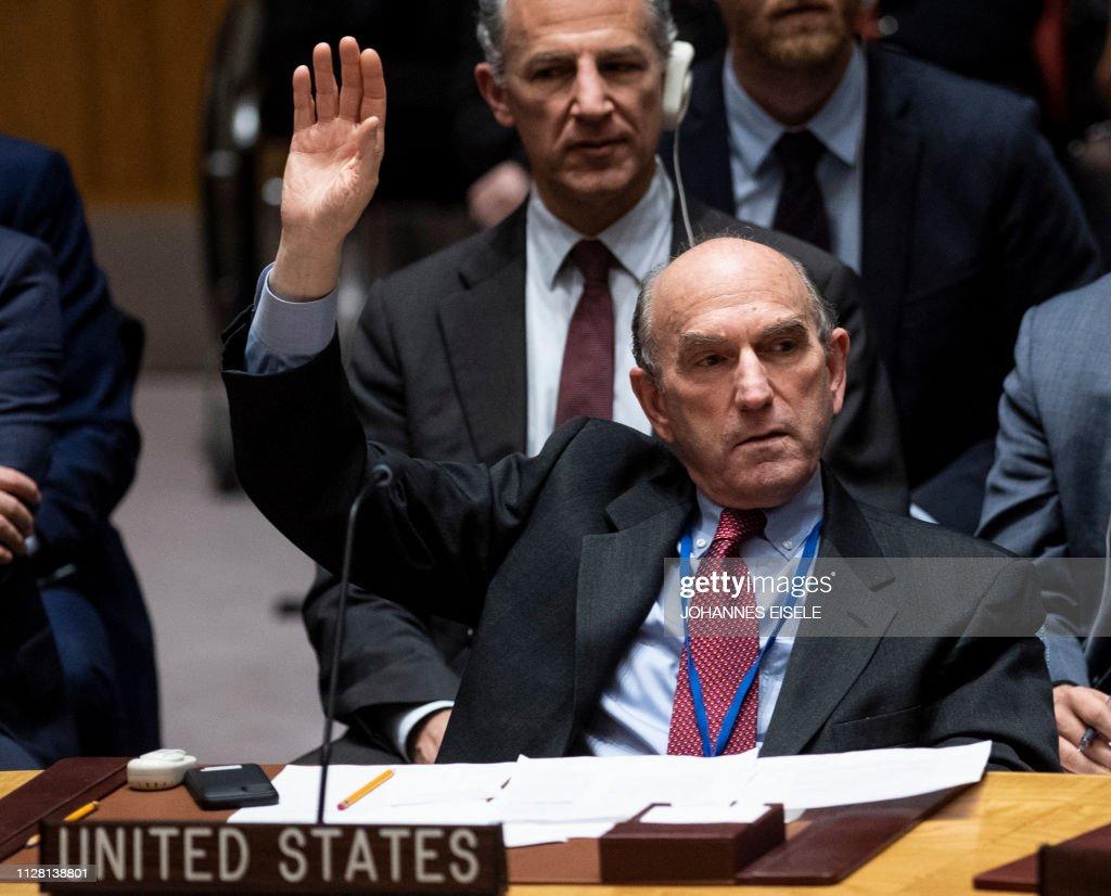 UN-VENEZUELA-POLITICS-DIPLOMACY : News Photo