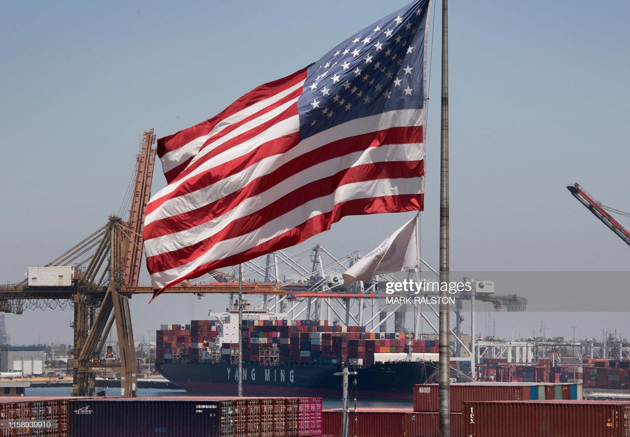 China-politics-trade-tariff-US-CHINA-ECONOMY-POLITICS-TRADE-TARI : News Photo