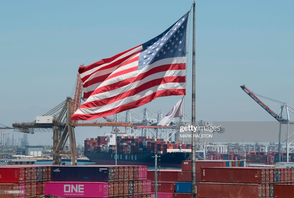China-politics-trade-tariff-US-CHINA-ECONOMY-POLITICS-TRADE-TARI : News Photo