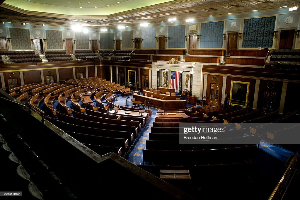 House Of Representatives Allows Media Rare View Of House Chamber : News Photo