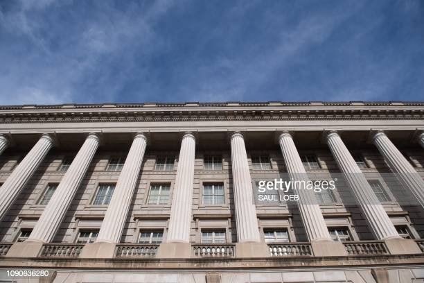The US Internal Revenue Service building is seen on the first work day for furloughed federal workers following a 35day partial government shutdown...