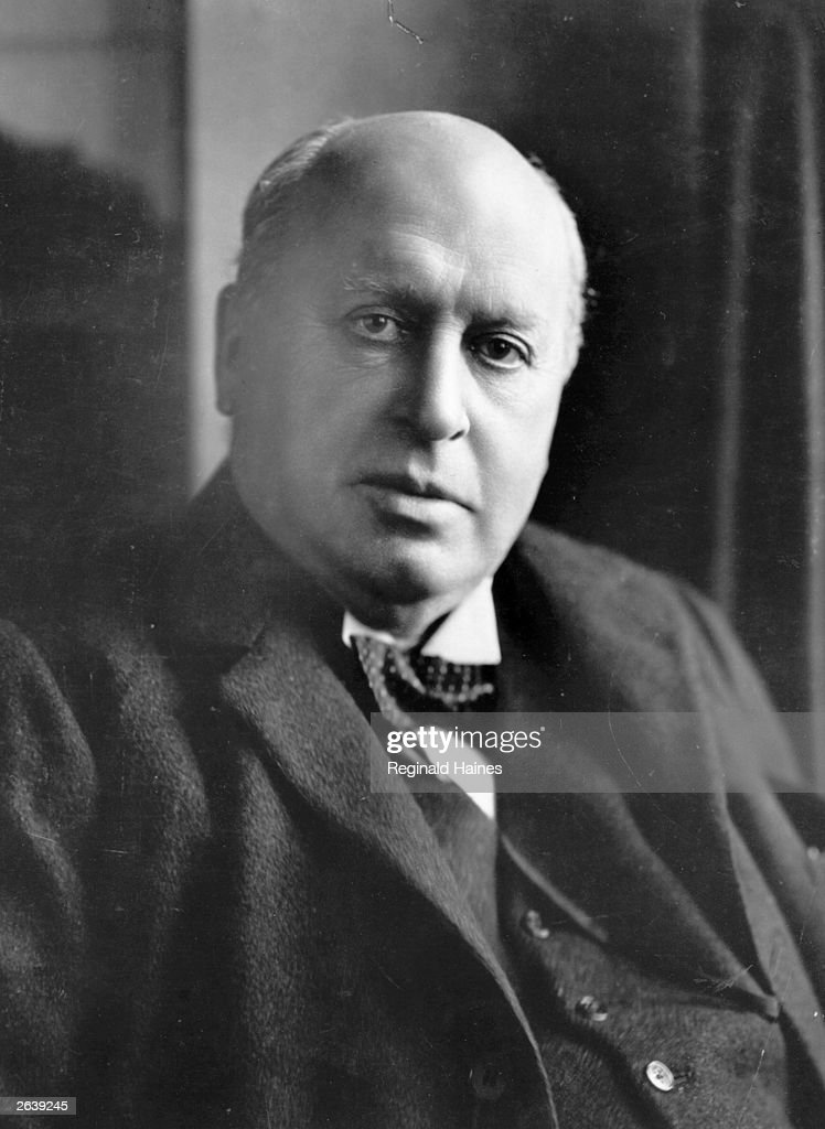 The US novelist Henry James, (1843 - 1916), born in New York of Irish and Scottish stock.