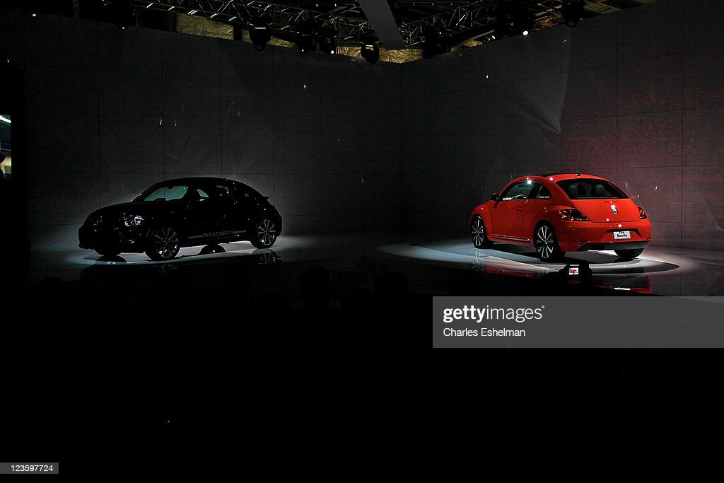 21 Century Auto >> The U S Reveal Of The 21st Century Volkswagen Beetle At