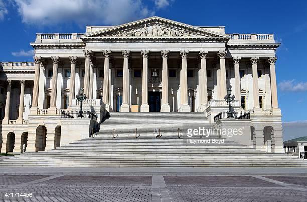 The US Senate building adjacent to the U S Capitol Building on April 11 2015 in Washington DC