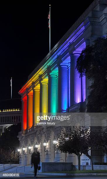 The U.S. Senate passes the Employment Non-Discrimination Act. This achievement was recognized the same evening by the War Memorial Opera House by...