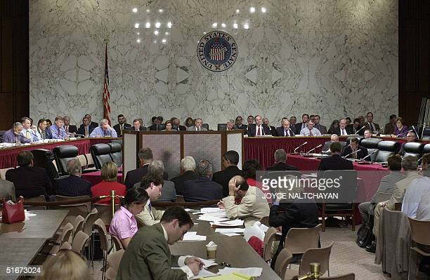 The US Senate Select Intelligence Committee and House Select Intelligence Committee listen to testimony of a CIA officer and a New York FBI Agent 20...