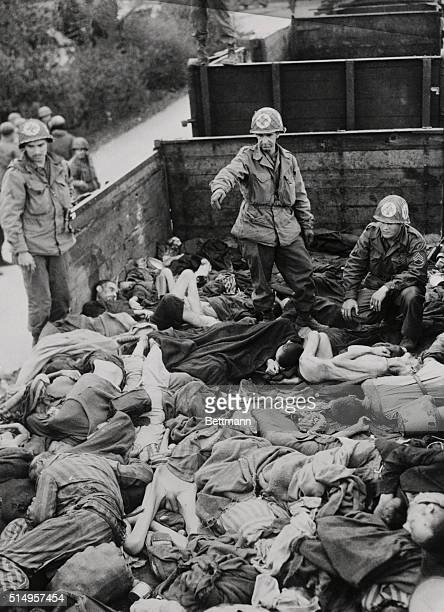 The US Seventh Army has taken Dachau the largest and most infamous of the German concentration camps It was here that the brutal methods on all the...
