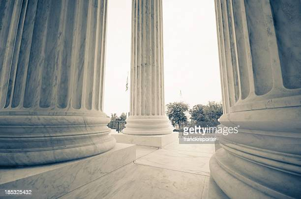 The US Supreme Court and Capitol Building - Washington DC