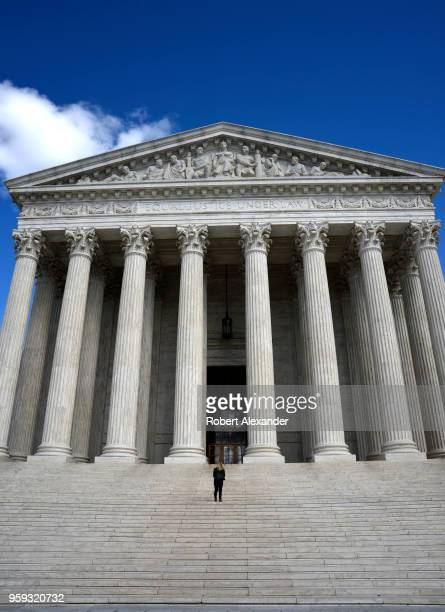 The US Supreme Court Building in Washington DC is the seat of the Supreme Court of the United States and the Judicial Branch of government