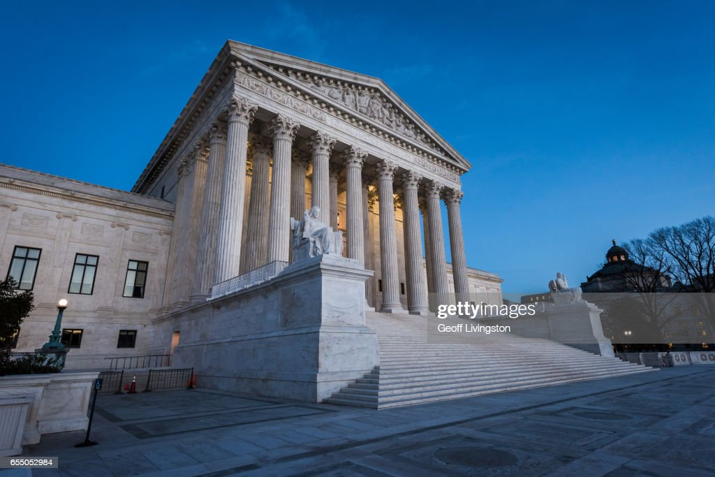 The U.S. Supreme Court Building : Stock Photo