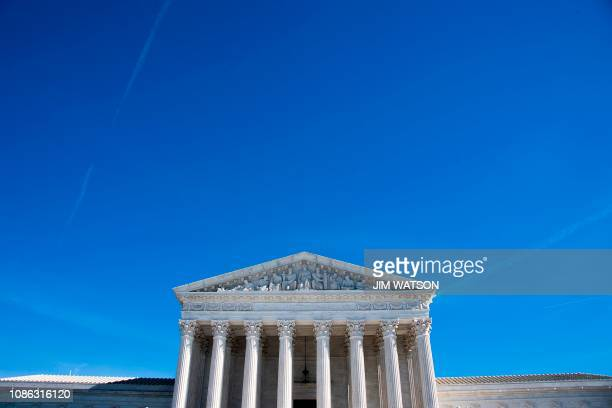 The US Supreme Court in Washington DC on January 22 2019 The US Supreme Court on Tuesday allowed US President Donald Trump's restrictions on...