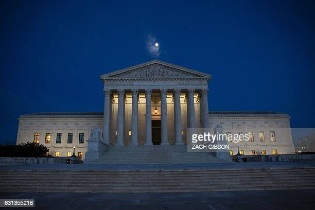 The US Supreme Court is pictured January 9 2017 in Washington DC / AFP / ZACH GIBSON