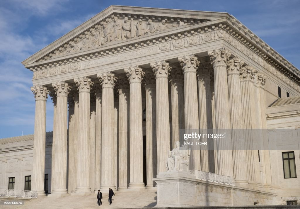 US-POLITICS-COURT : News Photo