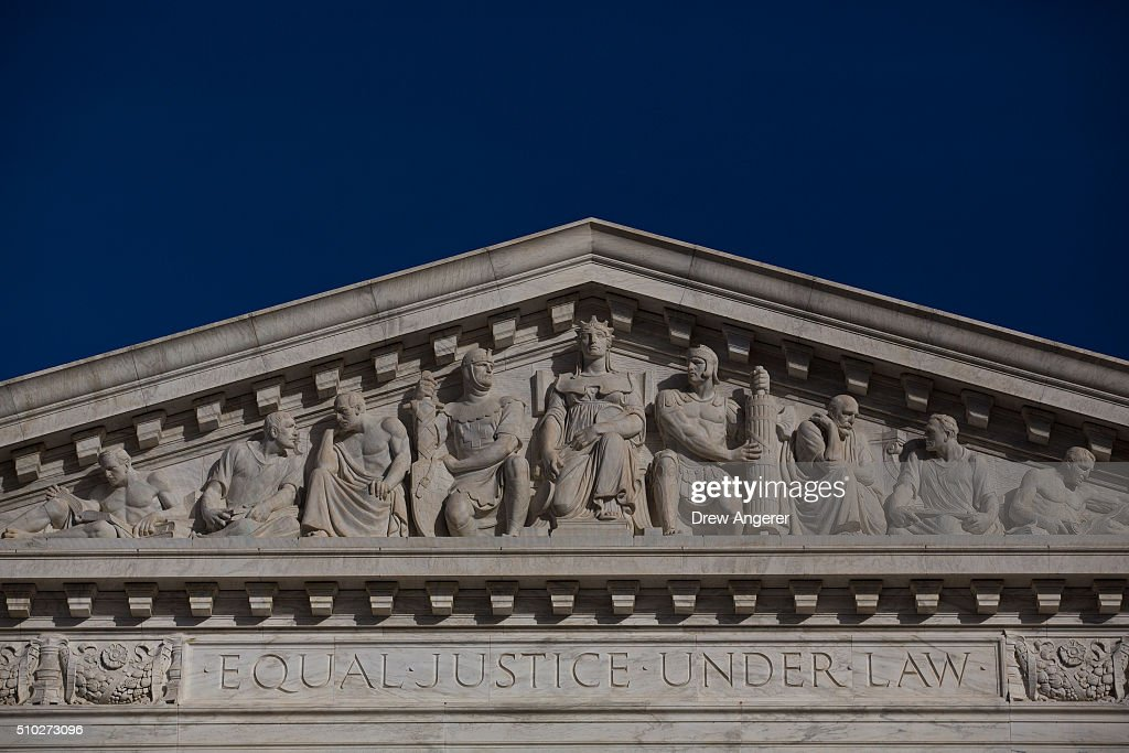 The U.S. Supreme Court is seen on February 14, 2016 in Washington, DC. Supreme Court Justice Antonin Scalia was at a Texas Ranch Saturday morning when he died at the age of 79.