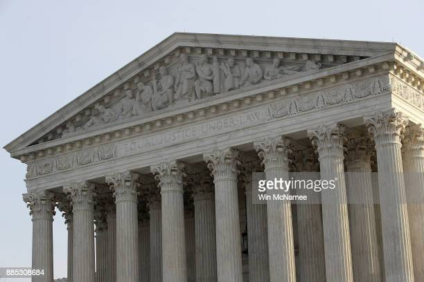 The US Supreme Court is shown on December 4 2017 in Washington DC The Supreme Court is scheduled to hear the Masterpiece Cakeshop v Colorado Civil...