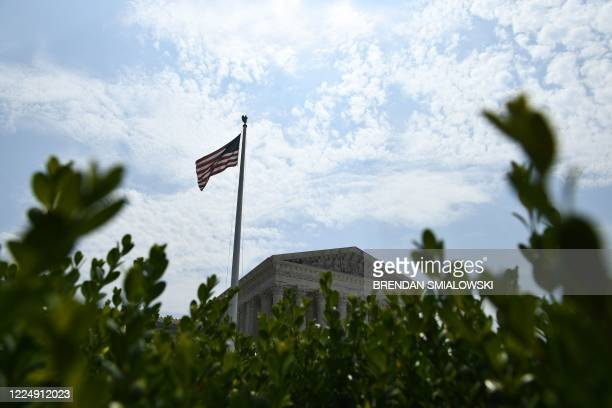 The US Supreme Court is viewed on July 6, 2020 in Washington, DC. - The Supreme Court issued a unanimous opinion on Monday that says states can...