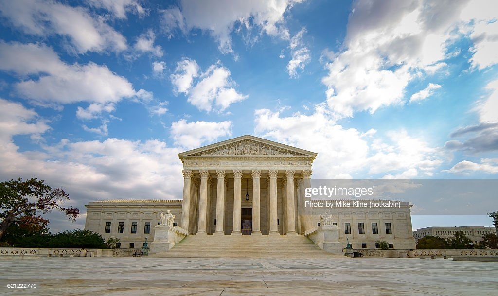 The US Supreme Court : Stock Photo