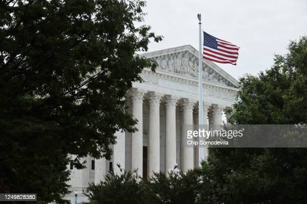 The US Supreme Court ruled that LGBTQ people can not be disciplined or fired based on their sexual orientation June 15 2020 in Washington DC With...