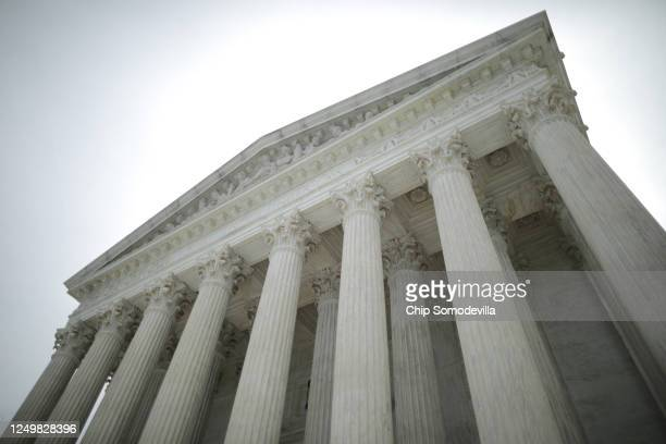 The U.S. Supreme Court ruled that LGBTQ people can not be disciplined or fired based on their sexual orientation June 15, 2020 in Washington, DC....