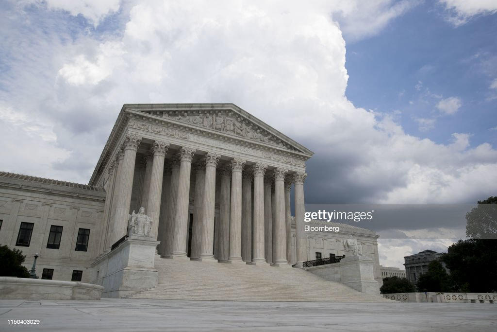 The U.S. Supreme Court Enters The Homestretch Of Its Term With Looming Decisions : News Photo