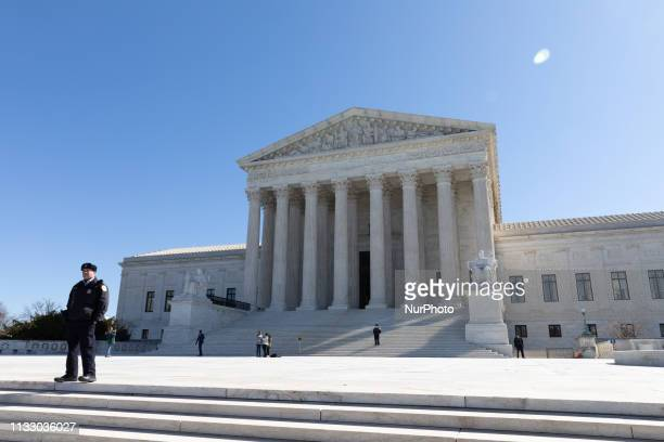 The US Supreme Court will review the constitutionality of stacking the electoral deck through gerrymandering on Tuesday morning Washington DC March...