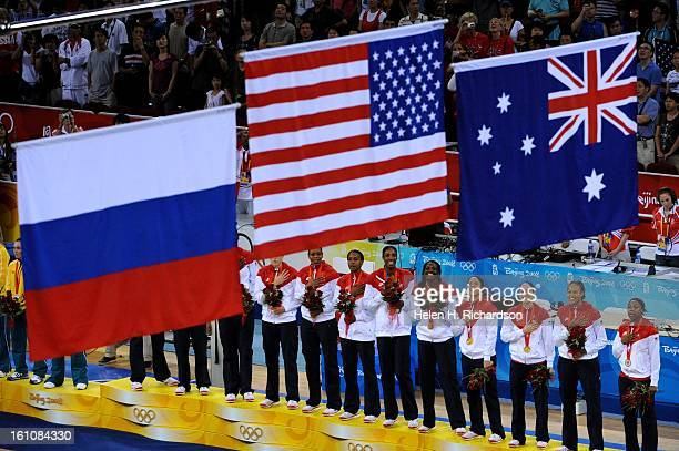 The US women's basketball team claimed its fourth consecutive Olympic gold medal with a 9265 victory over Australia Saturday night at the Olympic...