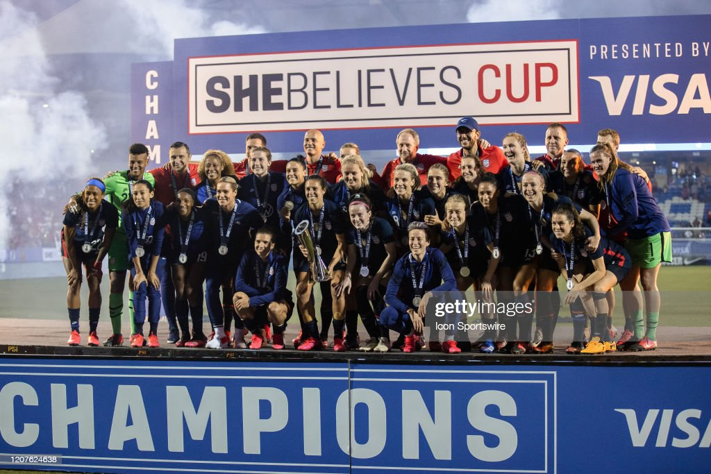 SOCCER: MAR 11 Women's SheBelieves Cup - USA v Japan : News Photo