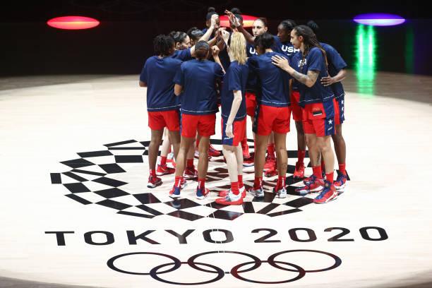 JPN: 2020 Tokyo Olympics: France v USA