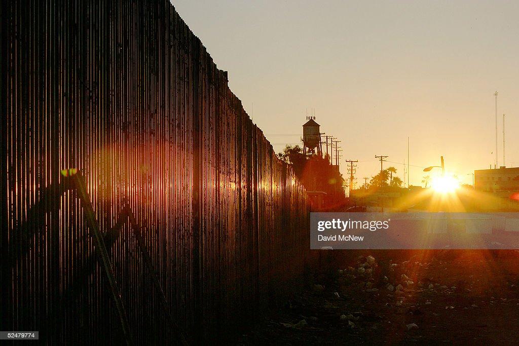 Border Security Threatens Mexico-California Economic Ties : News Photo