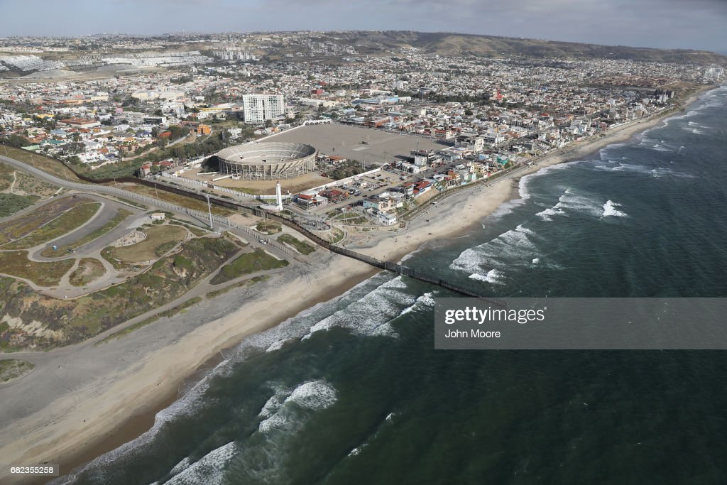 Aerial Views Of US Mexico Border Photos and Images Getty Images