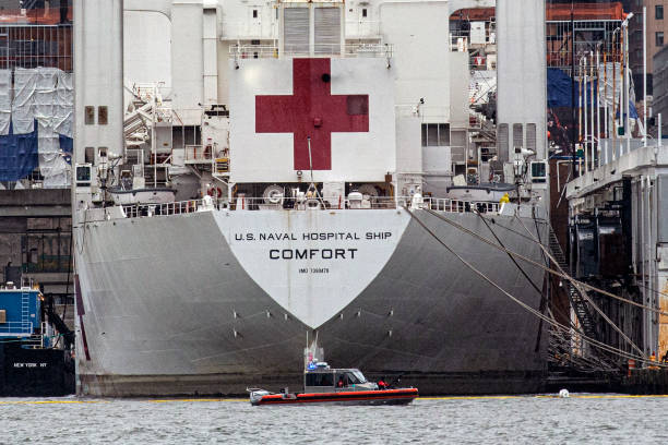 NY: USNS Comfort Hospital Ship In New York To Aid Coronavirus Response Remains Largely Unused