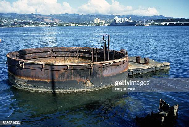The USS Arizona Memorial circa 1987 in Honolulu Hawaii