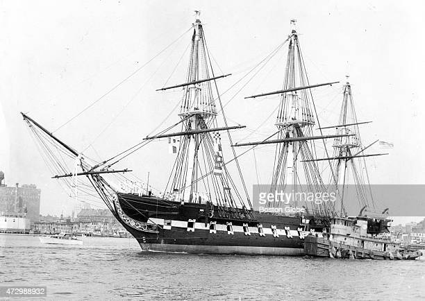 The USS Constitution is pictured in Boston Harbor on June 5 1963