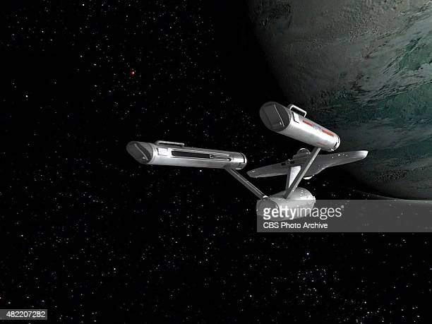 The USS Enterprise in the STAR TREK The Original Series episode The Cage This is the pilot episode completed early 1965 but not broadcast until...