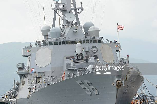 The USS John McCain, one of the US warships that will participate in the US and Philippine navies maritime exercise dubbed Cooperation Afloat...